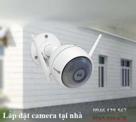 Camera wifi Ezviz lắp camera tại nhà tphcm