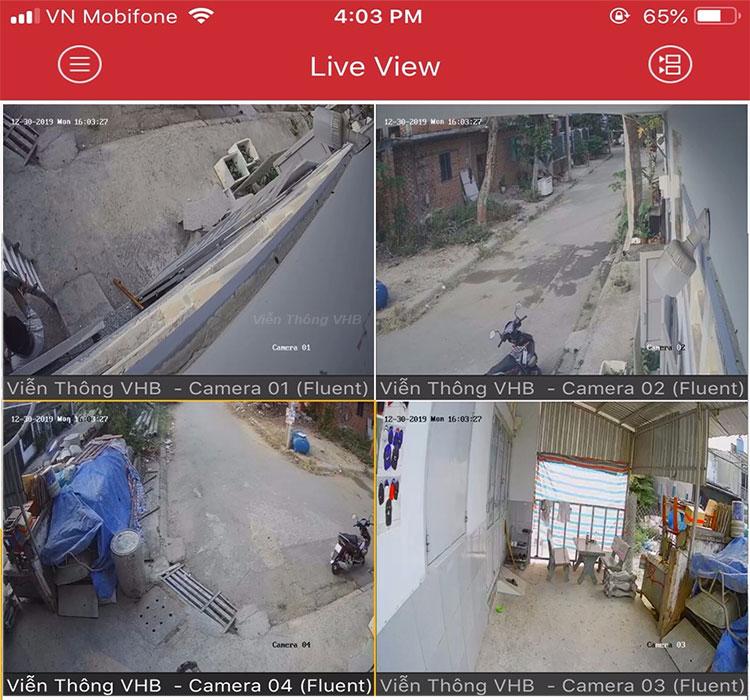 Bộ 5 mắt camera hikvision