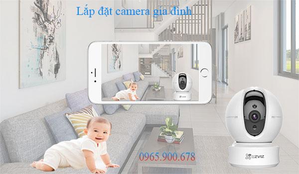 chi phí lắp camera gia đình