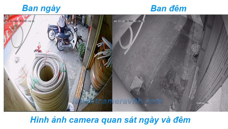 Hình ảnh lắp đặt camera trọn gói giá rẻ