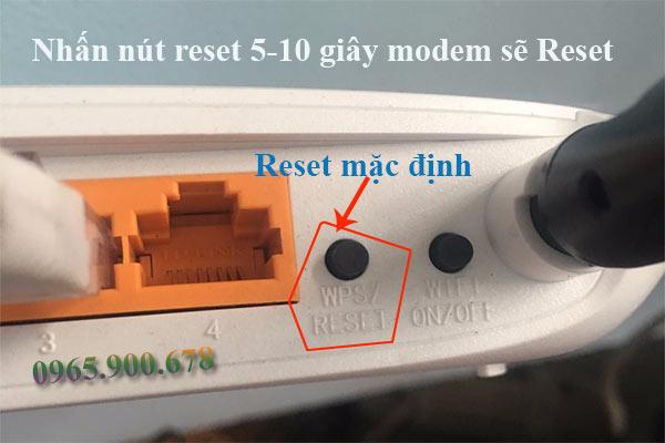 Sửa lỗi wifi hướng dẫn Reset cài lại wifi