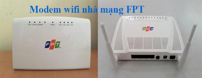 Sửa wifi tại nhà mạng FPT