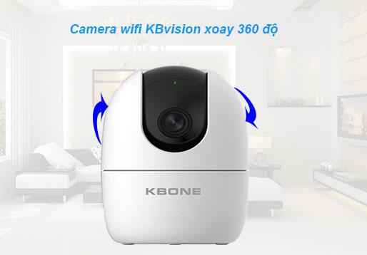 Camera giám sát wifi KBvision