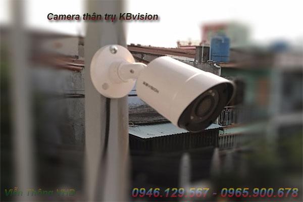 lắp đặt camera nhà xưởng camera thân trụ