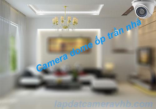 Chon camera dome lắp đặt camera trọn gói giá rẻ trong nhà
