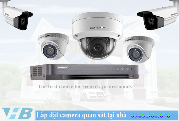 lắp đặt camera quan sát tại nhà