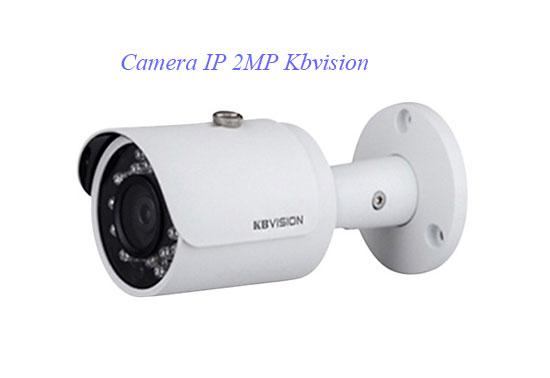 camera ip hồng ngoại ngoài trời IP 2MP Kbvision