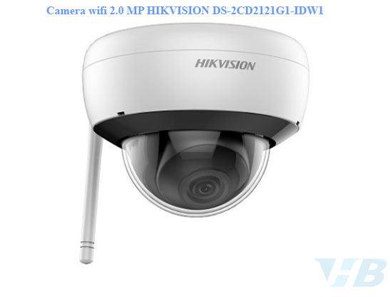 Camera wifi 2.0 MP HIKVISION DS-2CD2121G1-IDW1