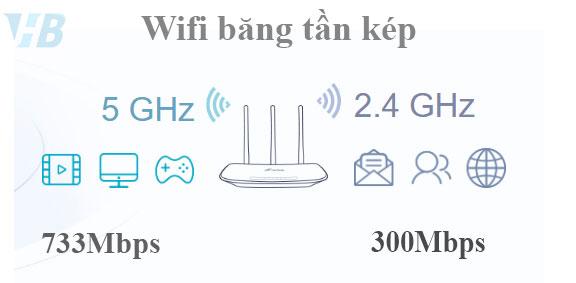 điện thoại không bắt được sóng wifi 5Ghz